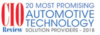 Top 20 Automotive Technology Solution Companies - 2018
